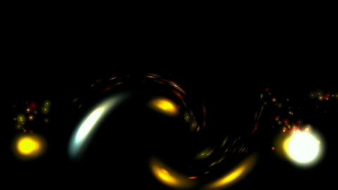 flare stars and particles in paradise,swirl rays lights... Stock Video Footage