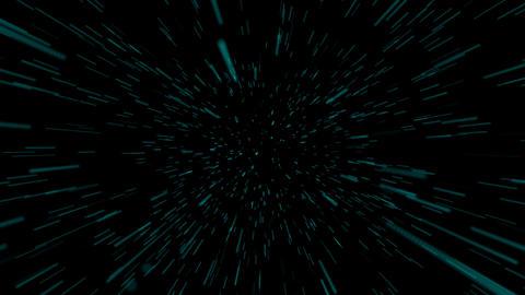HD Looping star travel Stock Video Footage
