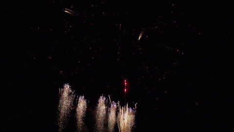 Firework in slow motion Footage
