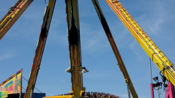 Amusement Park 3 Stock Video Footage