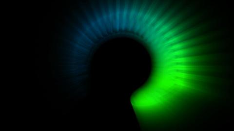 rotation circle launch rays light,fiber optic,aurora Stock Video Footage