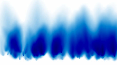 blue fire and smoke Stock Video Footage
