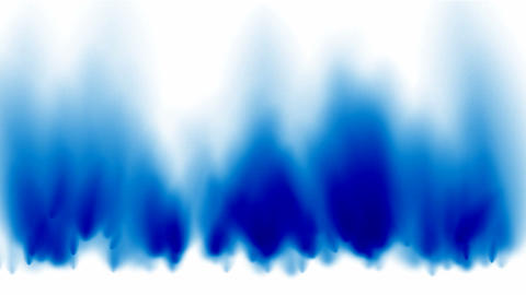 blue fire and smoke Animation