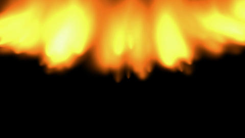 Fire,oilfield,military,war,battlefield Stock Video Footage