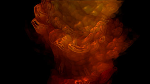 boiling volcanic eruptions,red fire tornado,2012,end of the world,explosion Animation