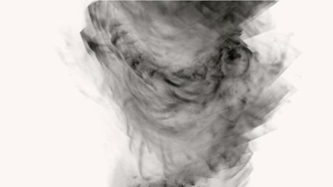 swirl smoke and tornado Stock Video Footage