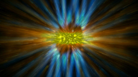 dazzling rays laser light and particles in universe,power energy field in galaxy Animation