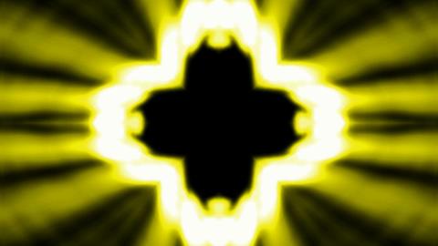 Buddhism lotus flower launch golden rays light,heaven laser Stock Video Footage