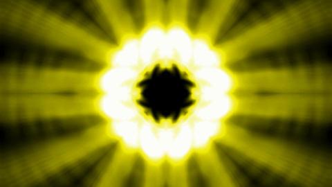 Buddhism lotus flower launch golden rays light,heaven laser Animation