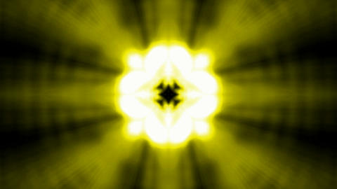 Buddhism lotus flower launch golden rays light,heaven laser Stock Video Footage