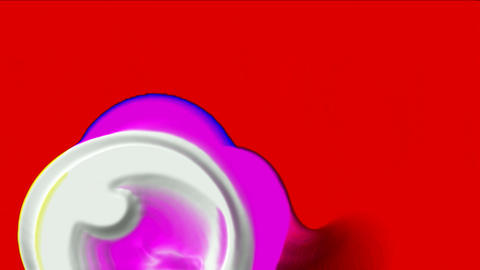 Human ovum,virus and stem cells,bubble and herpes Animation