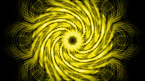 swirl golden cyclone and rays laser light,fiber optic... Stock Video Footage