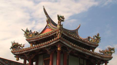 Baoan temple timelapse Stock Video Footage