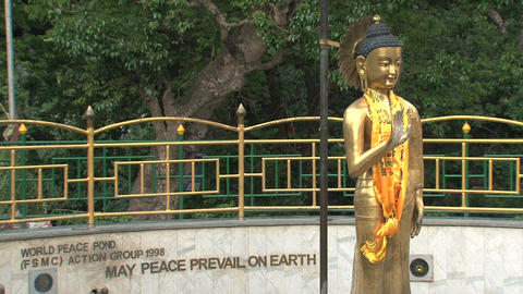 May Peace prevail on earth Stock Video Footage