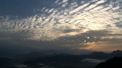 Mountain sunrise Stock Video Footage