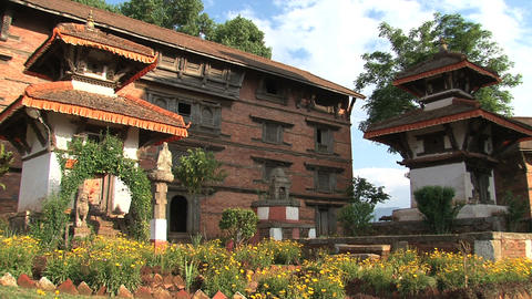Temple within Nuwakot Durbar Square Footage