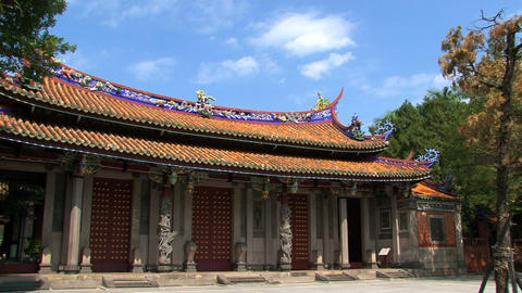 Taipei Confucius temple Stock Video Footage