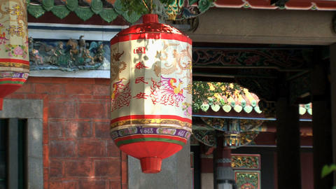 Taipei Confucius temple Footage