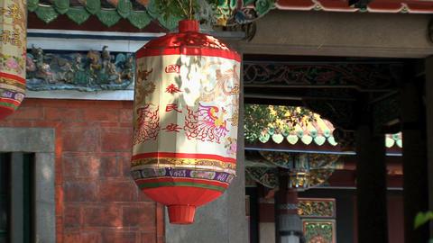Taipei Confucius temple Stock Video Footage