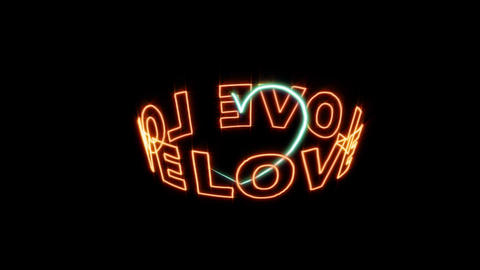 love 01 動画素材, ムービー映像素材