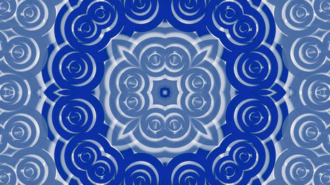blue east circle and cloud pattern,classical China porcelain fancy texture.abstr Animation