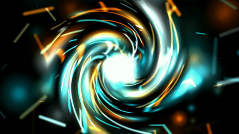 rotation electric ray light and fiber optic shaped swirl blackhole tunnel,energy Animation