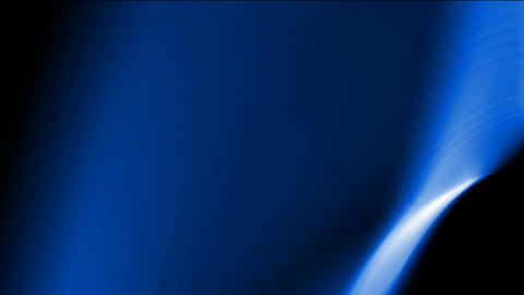 blue laser rays light and smooth silk in space,energy... Stock Video Footage
