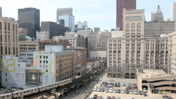 Chicago Loop Stock Video Footage