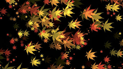 Canvas Leaves Animation