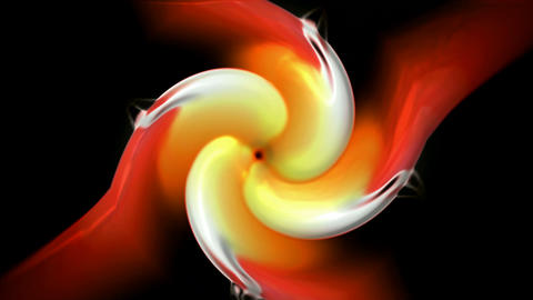rotation fire fan and rays light,swirl turbine and... Stock Video Footage