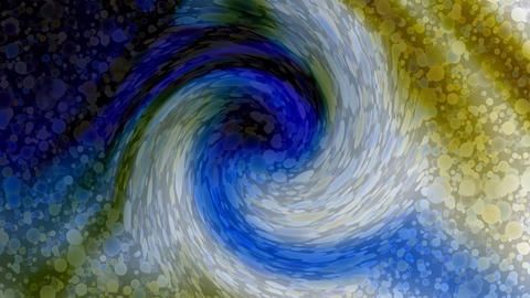 swirl particle and cyclones shaped stargate tunnel hole... Stock Video Footage