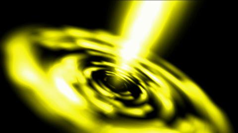 dazzling golden laser rays light in Milky Way,power... Stock Video Footage