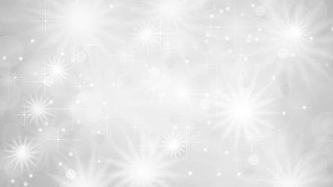 Shiny sparkling grey white stars video animation Animation