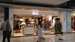 Harrods store Hong Kong International Airport Footage
