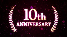 10th anniversary loop Animación
