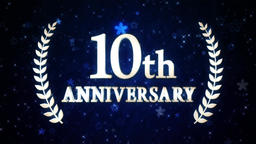 10th anniversary loop 애니메이션