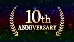 10th anniversary loop Animation