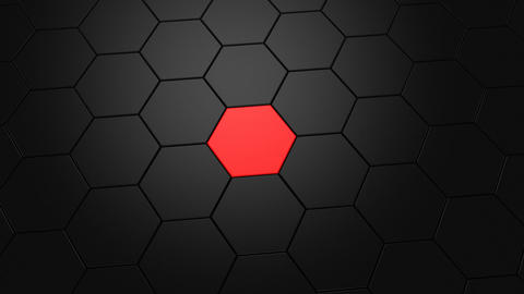 Animation of Hexagons Animation