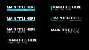 Charis Motion Titles After Effects Template