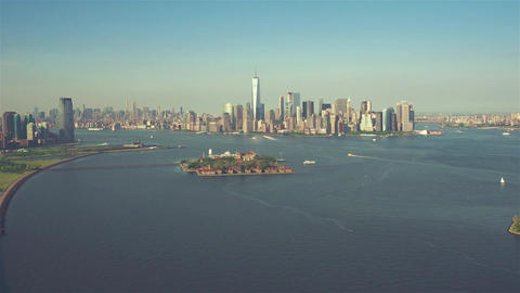 New York City , USA, Video - Lower Manhattan | New York City Footage