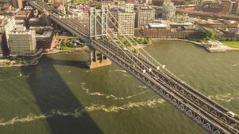 New York City , USA, Video - Manhattan Bridge | New York City Footage