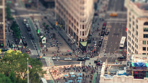 New York City , USA, Timelapse - The Flatiron Building | New York City Footage