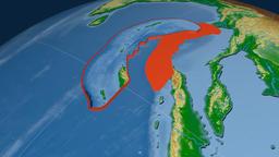 Burma tectonic plate. Physical Animation