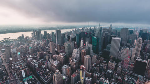 New York City , USA, Timelapse - Midtown Manhattan | New York City, NY, USA Footage