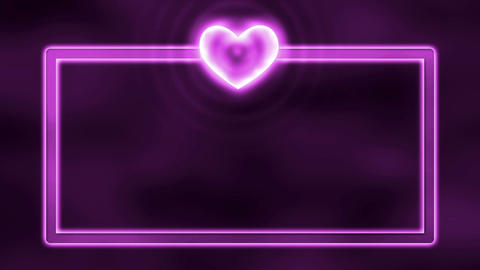 Love, Heart, Romance Loopable Motion Background, pink,... Stock Video Footage