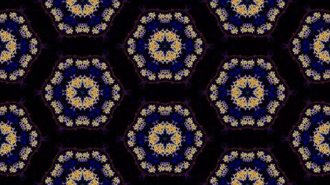 Kaleidoscopic vj seamless loop Stock Video Footage