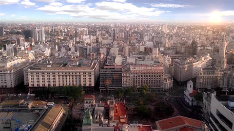 Buenos Aires Cityscape Footage