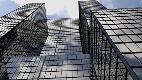Skyscraper timelapse Animation