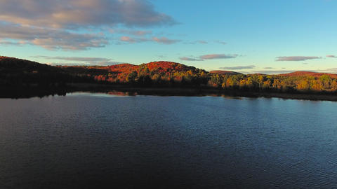 Algonquin Provincial Park , Canada, Video - A lake in Ontario at Fall | Canada Live Action