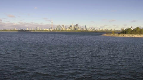 Toronto, Canada, Video - The Skyline from Toronto Islands Footage